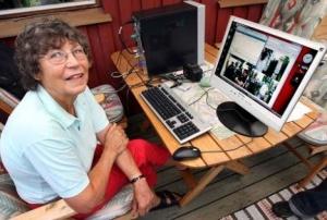 Inilah Nenek Yang Mempunyai Kecepatan Internet 40 GB/s